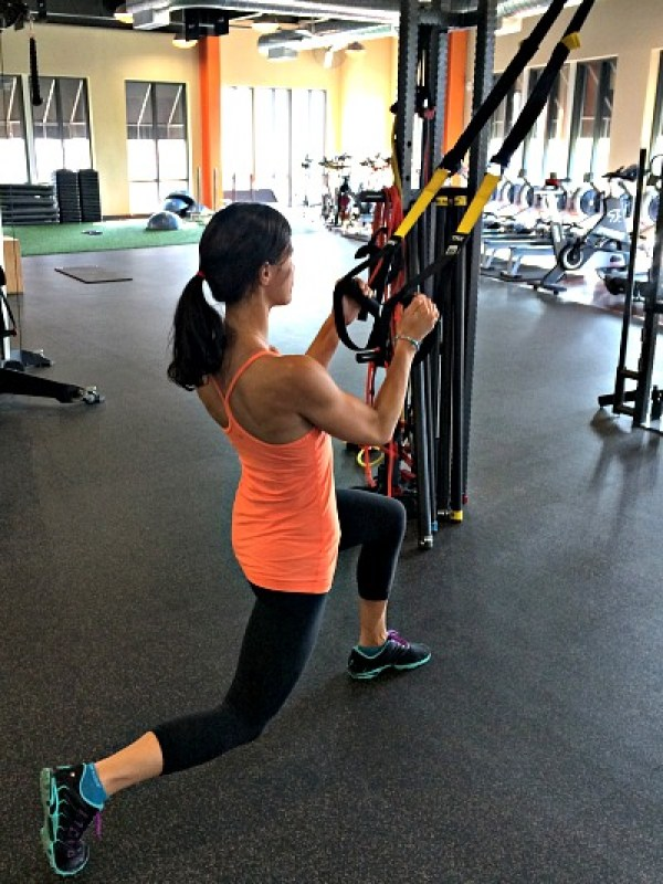 Total Body Workout with TRX and Dumbbells