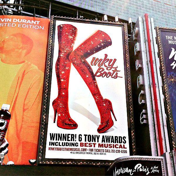 Kinky Boots on Broadway