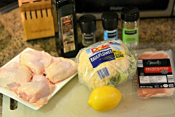 ALDI Prosciutto Chicken Ingredients