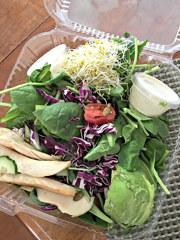 Remix Salad from Namastay Kitchen