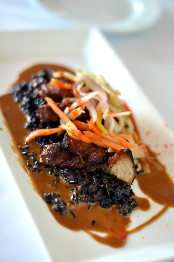 Pork Belly Appetizer at Marina Cafe