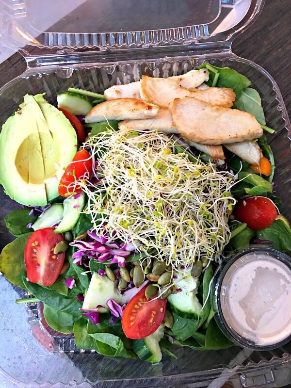 Namastay Kitchen Remix Salad