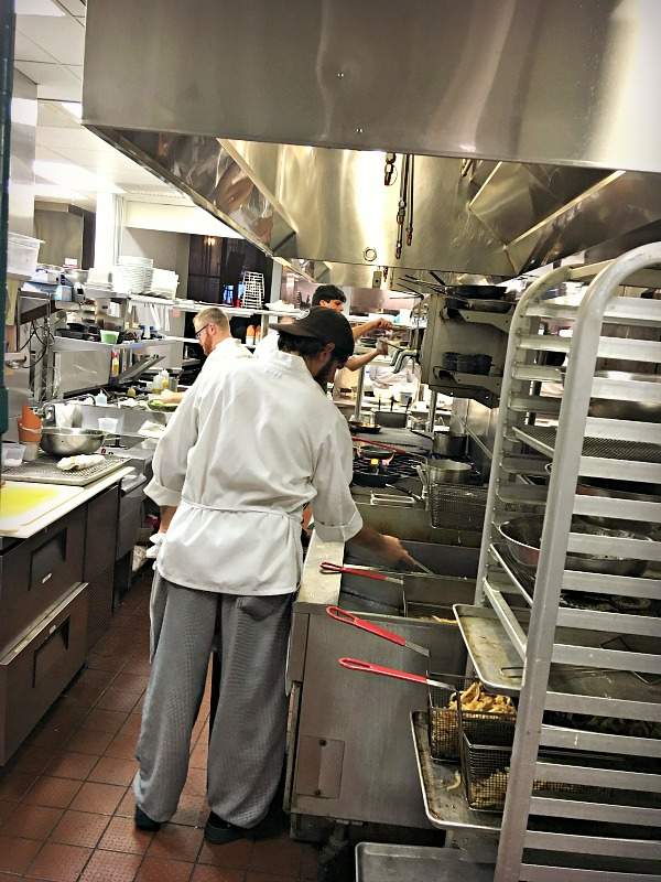 Ritz Carlton Kitchen