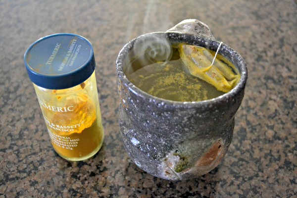 Ginger Tea with Turmeric
