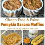 Gluten-Free & Paleo Pumpkin Banana Muffins