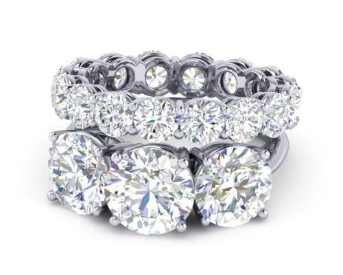 Medium Of Past Present Future Ring