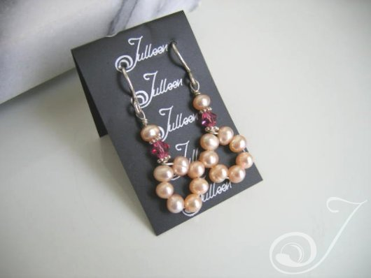 Pink Musk Drop Earrings