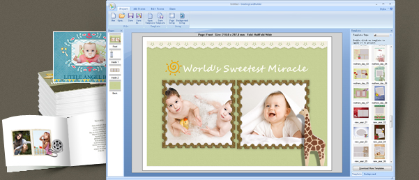 Greeting Card Software Greeting Card Maker Photo Greeting Card