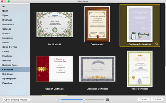 How to Create a Certificate with Abundant Free Certificate Templates - create a voucher template