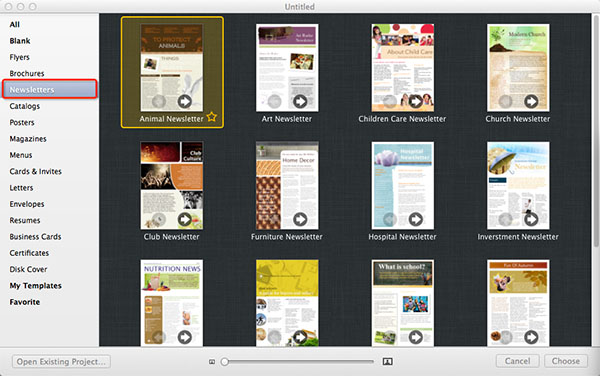 How to Make Newsletter from Professional Designed Templates