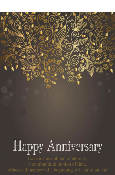 Anniversary Card Templates Printable Anniversary Cards \u2013 Greeting Box