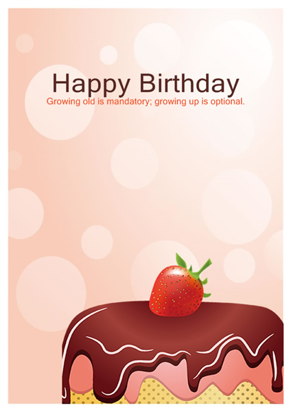 Birthday Card Templates Greeting Card Builder - template for a birthday card