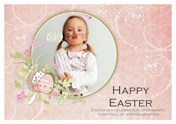 Easter Card Templates Greeting Card Builder - easter greeting card template