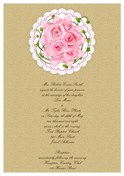Wedding Card Templates Greeting Card Builder - wedding card template
