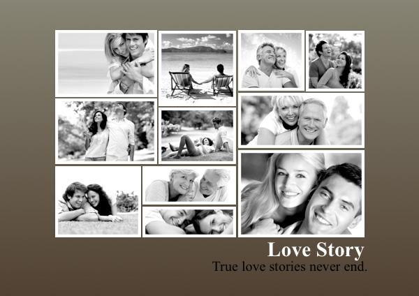 photo collage templates - Acurlunamedia