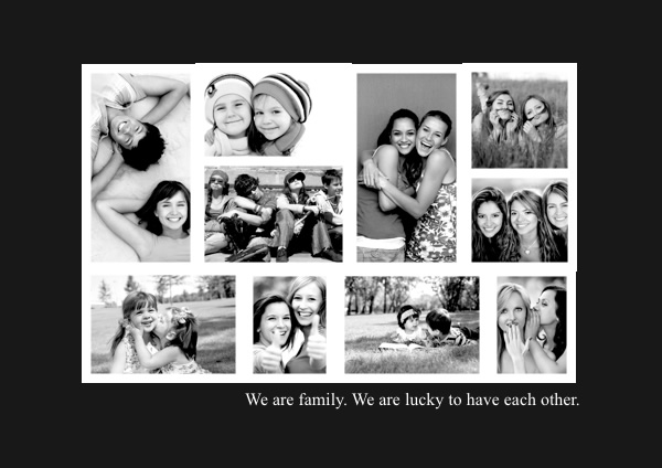 Photo Collage Samples  Templates - Picture Collage Maker