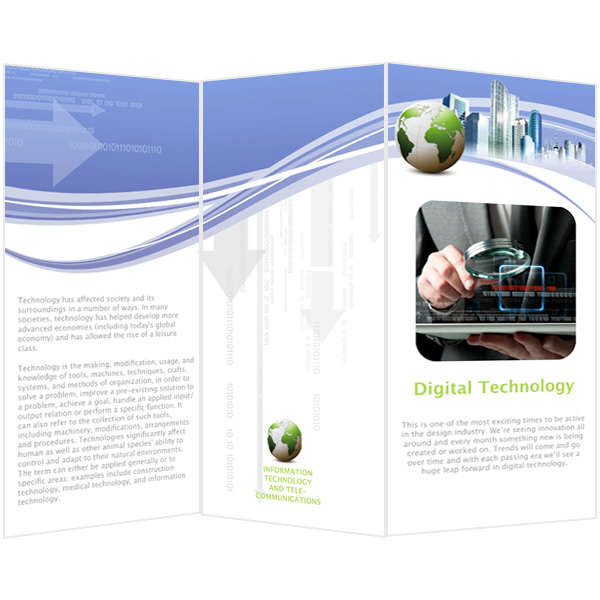 Brochure Templates  Samples Brochure Maker \u2013 Publisher Plus