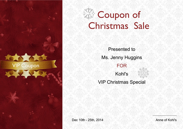 Certificates Templates  Sample \u2013 Design Excellent Certificates with - publisher templates christmas