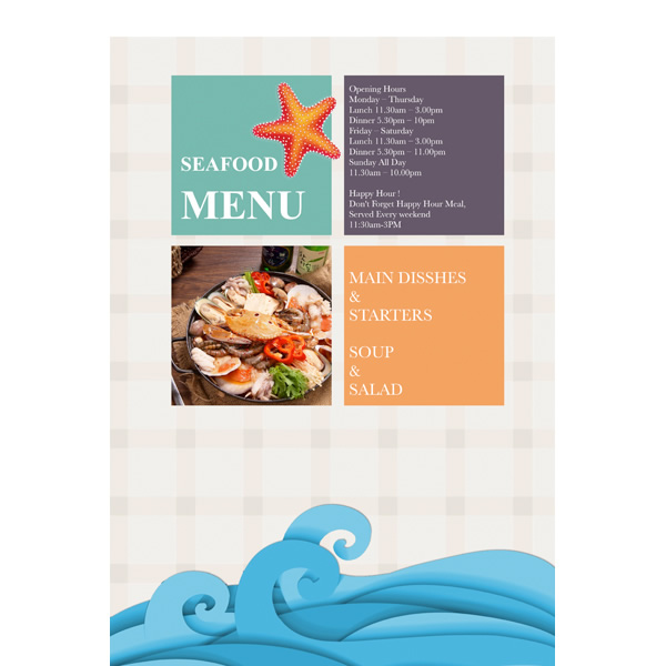 Menu Templates  Samples Menu Maker \u2013 Publisher Plus