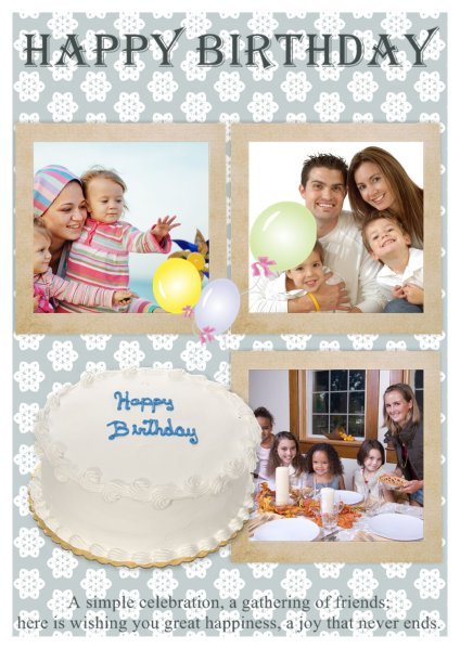 Birthday Card Templates Addon Pack - Free Download - Greeting Card