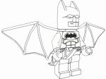 D Lego Colouring Batman