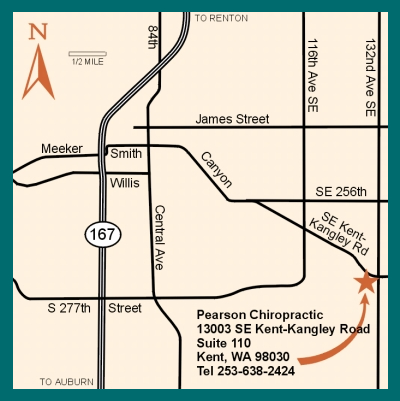 pearson_chiropractic_map