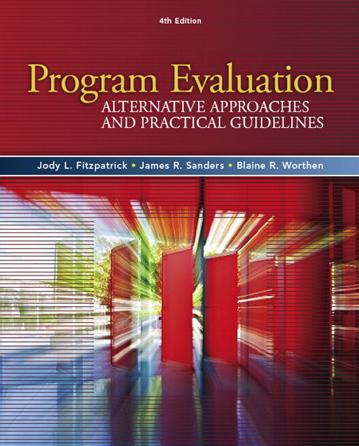 Fitzpatrick, Sanders  Worthen, WorthenProgram Evaluation_4, 4th - Program Evaluation