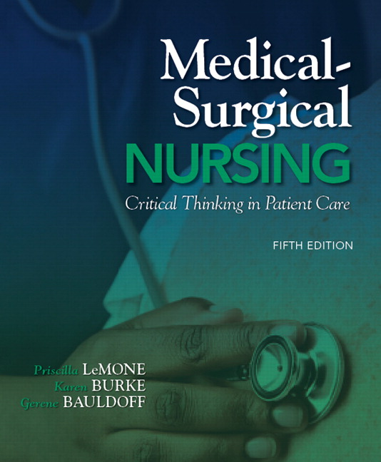 LeMone, Burke, Bauldoff  Gubrud, Medical-Surgical Nursing Clinical