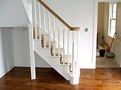 Stringer Stairs Wooden Metal Wall Stringers For Stairs