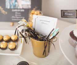 Sparkling Graduation Party Decorations To Comment Cards Graduation Party Ideas 2016 Pear Tree Blog Graduation Party Favors Homemade Graduation Party Favors Bulk