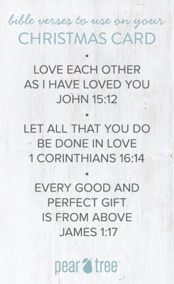 Small Of Bible Verses For Christmas Cards