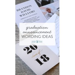 Small Crop Of Graduation Announcements Wording