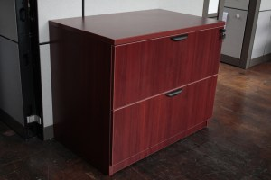 Warren Series 2 Drawer 36 Laminate Lateral File Cabinet In Maple Or Cherry O Peartree Office Furniture