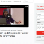 Hackers are not criminals – Collection of signatures to change the definition of the RAE