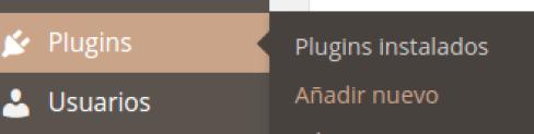 Añadir plugin