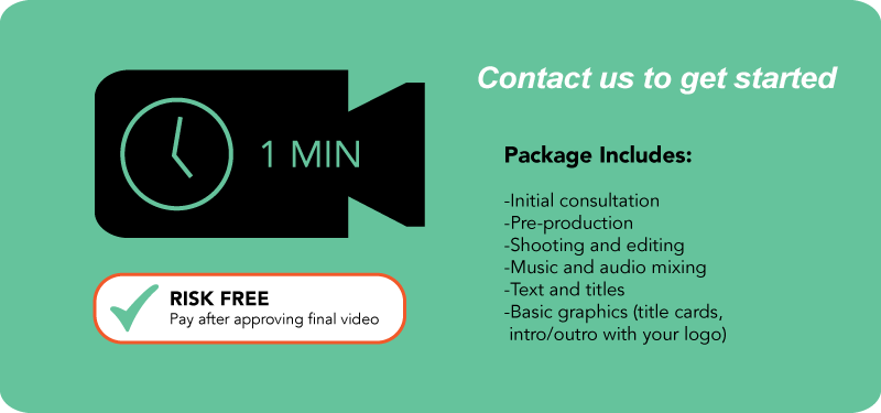 One Minute Video Package