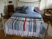 Fresh Striped Bed Throws