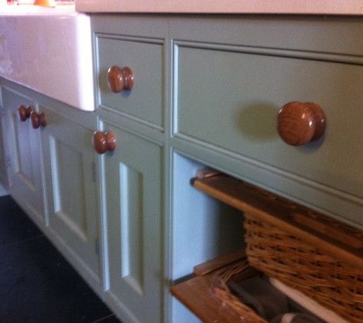 Painted Pine Cupboards