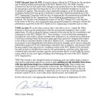 Maria Lopez Herranz's Declaration