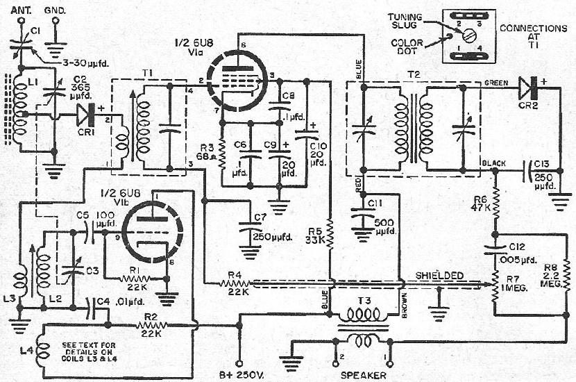 tube and knob wiring