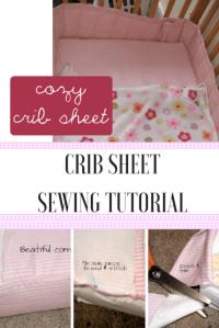 Crib Sheet Tutorial - Peek-a-Boo Pages - Patterns, Fabric ...
