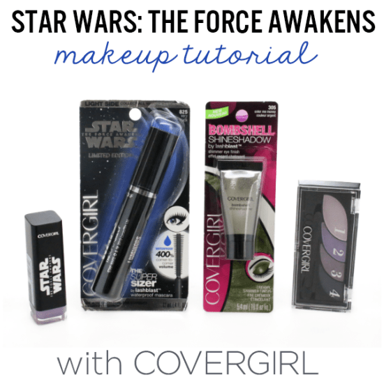 Star Wars makeup tutorial with Covergirl