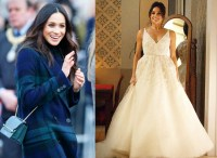 Meghan Markle's wedding dress costs over half a million ...