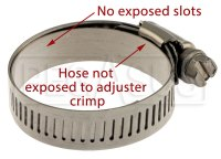 Stainless Steel Worm-Drive Hose Clamp with Metal Lining ...