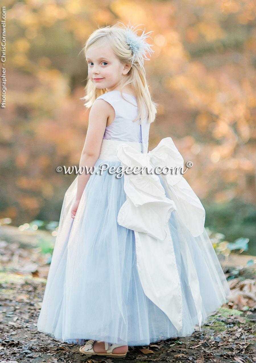 Purple Weddings & Flower Girl Dresses