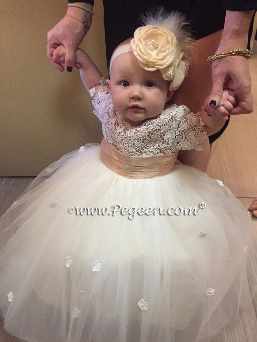 2016 Backyard Wedding and Flower Girl Dress of the Year