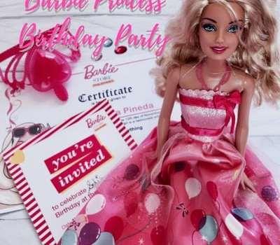 Sofi's Barbie Birthday Party Package