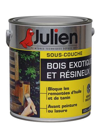 Sous-couche Bois exotiques et résineux - Peintures Julien - Peinture Julien Sous Couche