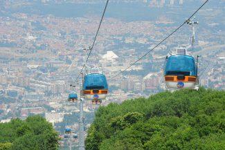 Skopje Cable car(mountain Vodno)