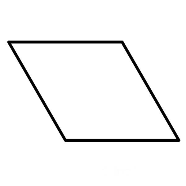 Diamond paper templates for patchwork Freezer paper diamonds - angle template